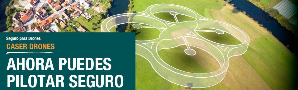 seguro de drones caser
